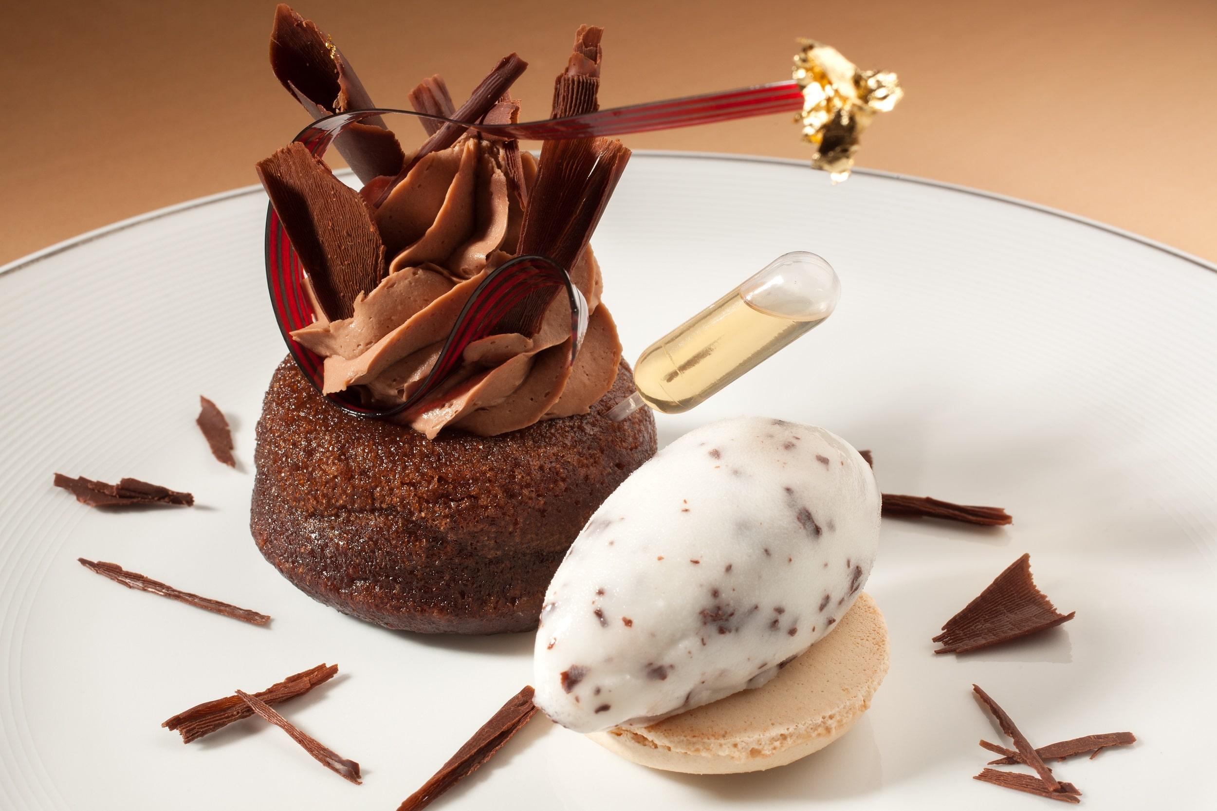 Moelleux au chocolat de l'opéra.
